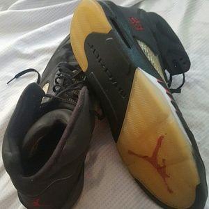 7be6cd56aa1e Jordan Shoes - AIR JORDAN 5 RETRO RAGING BULL 3M dead stock sz 18